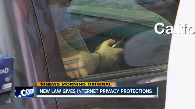 New CA law gives people more internet privacy rights