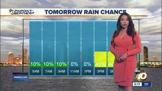 Angelica's Forecast: Humid with possible storms