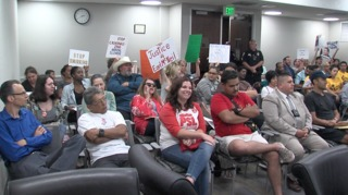 Protesters disrupt 4th city council meeting