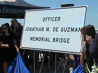 South Bay bridge dedicated to slain SDPD officer