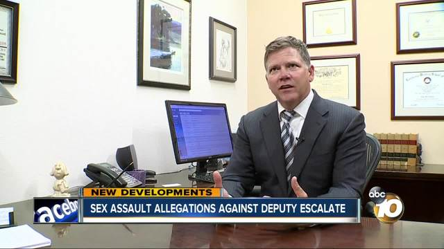 Sexual assault allegations against deputy escalate