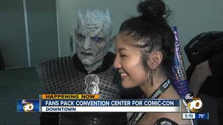 Artists and cosplayers shine at Comic-Con