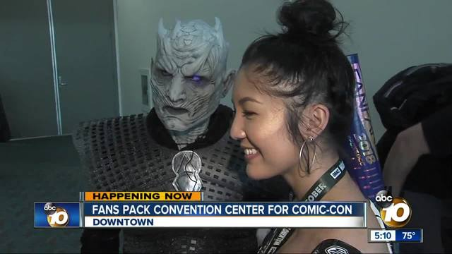 With fewer celebrities- smaller artists and cosplayers shine at Comic Con