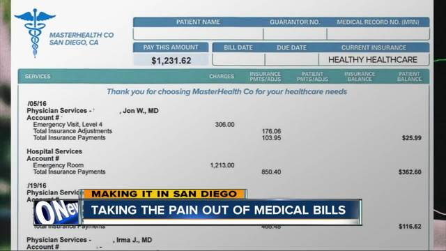 Making it in San Diego- How to deal with high medical bills