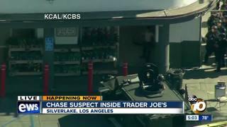 Suspect arrested in standoff at LA Trader Joe's