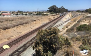 Pedestrian killed on Oceanside railroad track