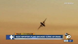 Reporter flying to San Diego stranded on tarmac