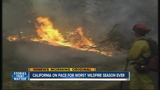 2018 on pace to set CA state wildfire records