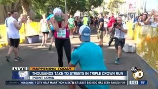 Couple gets engaged at San Diego half-marathon