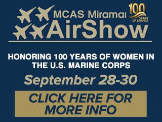 MCAS Miramar Air Show parking, maps