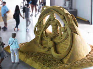 PHOTOS: Works of sand art from US Sand Sculpting