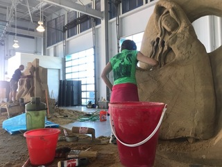 The art of the U.S. Sand Sculpting Challenge
