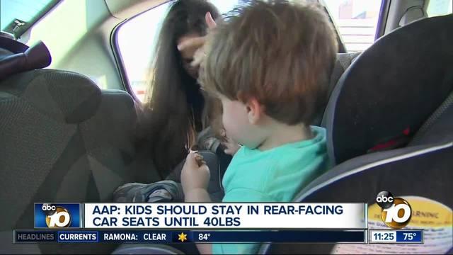 Pediatrics Association Makes Changes To Car Seat
