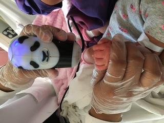UCSD develops fingerprint scanner for newborns