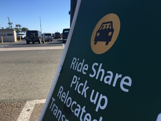 Rideshare companies offering rides to the polls