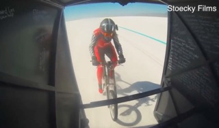 Valley Center woman breaks bike speed record