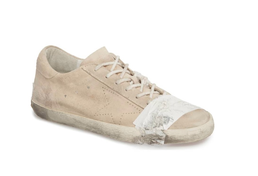 Nordstrom sells out of dirty-looking, $530 shoes with duct tape - News 5 Clevela...