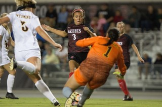 SDSU starts conference play with 2-1 victory...