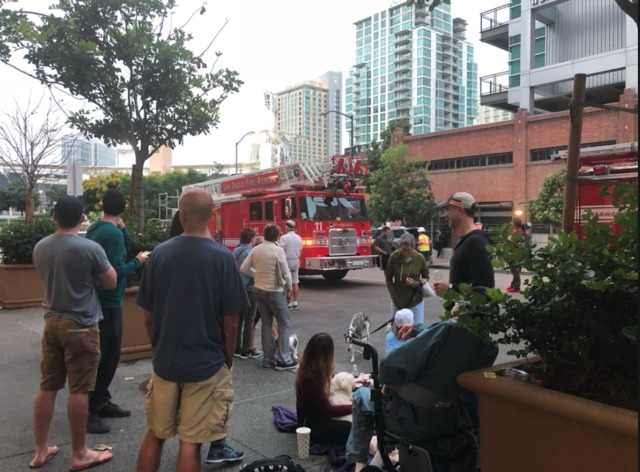 14-story high-rise evacuated due to flooding