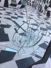 Vandals go on smashing spree in sculpture garden