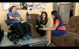 Border Patrol agent faced with ALS