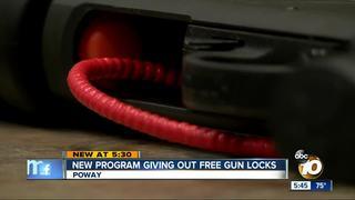 New program giving out free gun locks