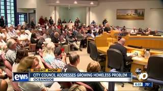 Oceanside residents demand homeless solution