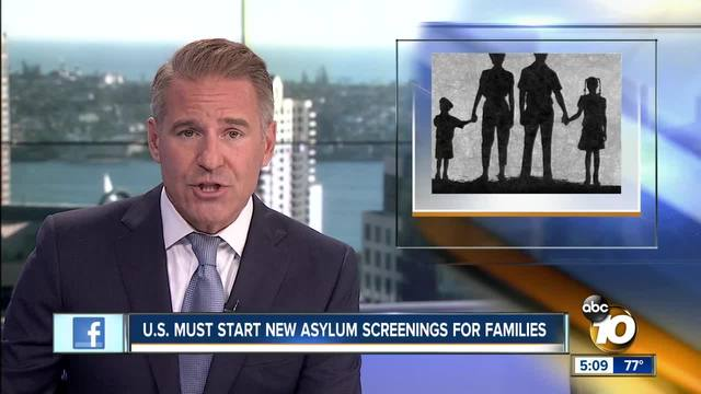 Judge- U-S- must start new asylum screenings