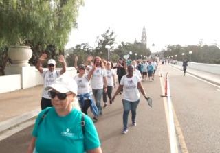Thousands 'Walk for Alz' in Balboa Park