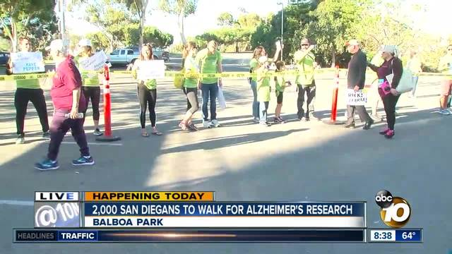 -Walk for Alz- brings thousands to Balboa Park to support Alzheimer-s research