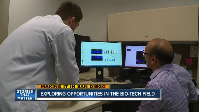 Making It In San Diego Biotech Industry Is Booming
