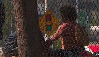 Homeless problem plagues park in Spring Valley