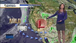 Megan's Forecast: Mild today, warmer soon