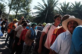 Bulk of migrant caravan is 1,600 miles away