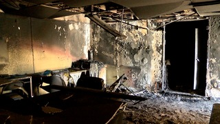 Arsonist incinerates nonprofit's office