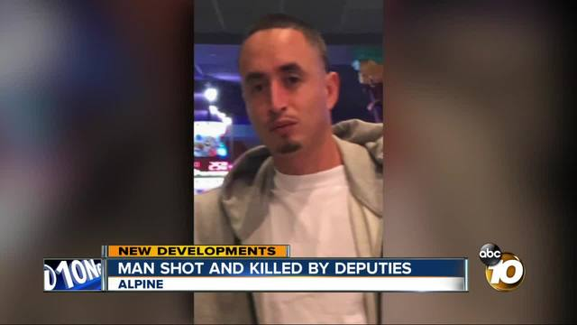 Man shot and killed by deputies in Alpine