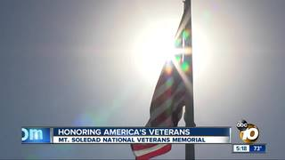 Hundreds honor America's veterans on Mt. Soledad