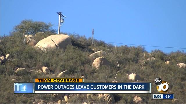 High winds leaves thousands without power in San Diego
