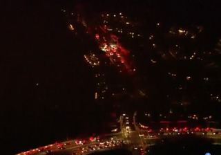 Fires erupt on ends of Sorrento Valley canyon