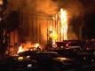 SUV fire spreads to trees near Encanto home