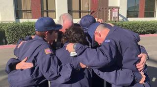 San Diego nurses travel for Camp Fire care