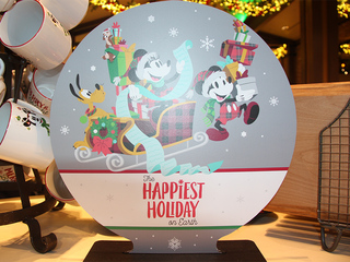 PHOTOS: Disney holiday merch hits store shelves