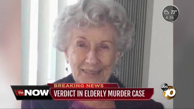 Man found guilty for murdering 94-year-old