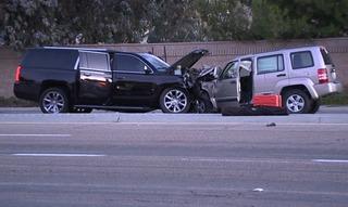 Mother arrested in crash that injured children