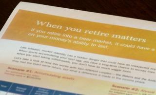 Handling market volatility close to retirement