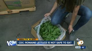 CDC: Romaine lettuce not safe to eat