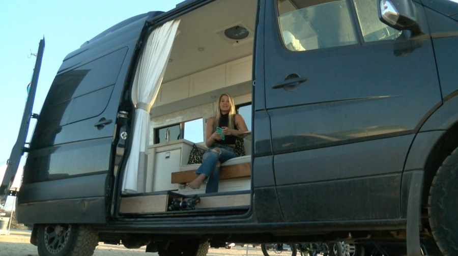Making It In San Diego: People converting vans to avoid high rent