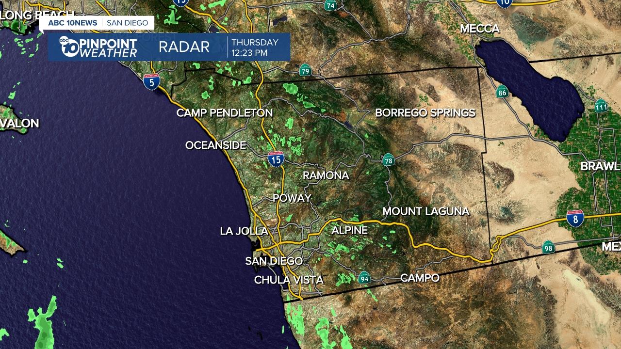 San go, CA Weather Forecast | KGTV | kgtv.com California Weather Forecast Map on